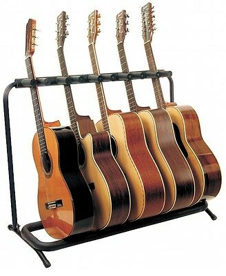 $ CDN65.09 • Buy CLOSEOUT! RockStand Multiple Guitar Stand For 5 Acoustic Guitars, RS20871B2