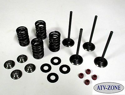 $249.95 • Buy Stainless Steel Intake And Exhaust Valves With Spring Kit Honda CRF 450X 05-15