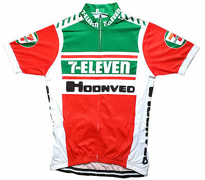 AU49.83 • Buy 7 Eleven Retro Vintage Cycling Team Bike Cycle Short Sleeve Summer Jersey