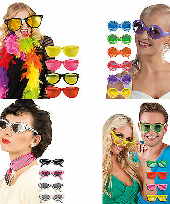 £5.44 • Buy Funny Goofy Glasses Costume Party Sunglasses Fancy Dress Period Accessories Set