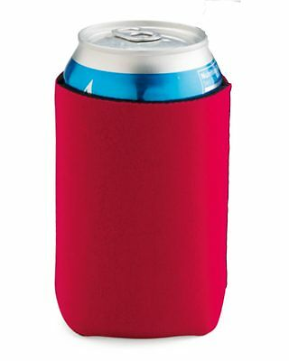 $5.95 • Buy 4 Liberty Bags Blank Neoprene Koozies Beer Soda Can Cooler Holder FT007 3 COLORS