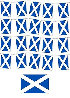 £5.69 • Buy Scotland 2020 2021 Garden Party Bunting St Andrew's Day / Football / Rugby - 10m