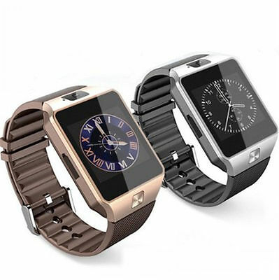 AU33.67 • Buy DZ09 Bluetooth Smart Wrist Watch Phone Mate GSM SIM For IOS Anroid HTC IPhone