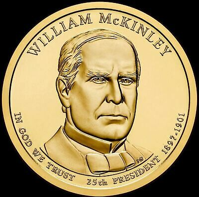 $4.98 • Buy 2013 P William McKinley Presidential Dollar  Brilliant Uncirculated  US Coin