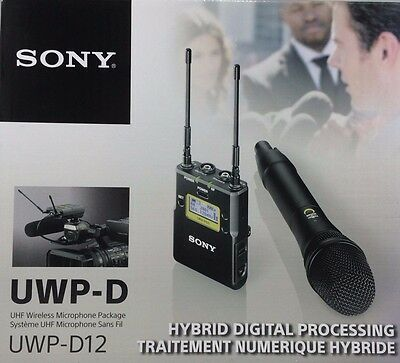 Sony - UWP-D12/30 - Integrated Digital Wireless Handheld Microphone ENG System • 357.59£