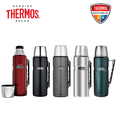 AU66.99 • Buy New Thermos 2.0 Litre Stainless King Stainless Steel Vacuum Insulated Flask