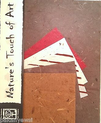 £1.75 • Buy Handmade Mulberry Paper -10 Sheets Of 2 Sizes - Art/Craft/Decoupage Etc. (10/5)