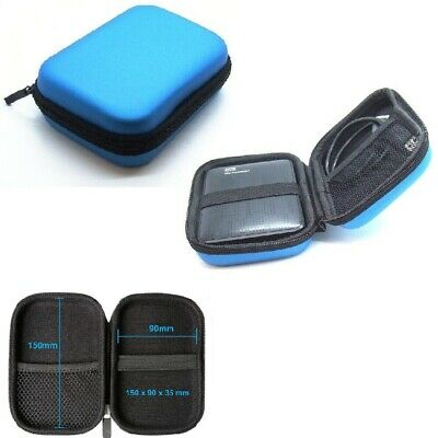 £3.49 • Buy External Hard Disk Protect HDD Shockproof Carrying Enclosure Drive Case Cover UK