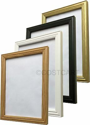 Photo Picture Poster Print Antique Anqitue Style Frame Black White Oak Gold  • 6.68£