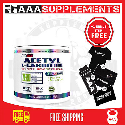 AU29.95 • Buy Ehp Labs Acetyl L-Carnitine | 100 Serve Weight Fat Loss Support Supplement