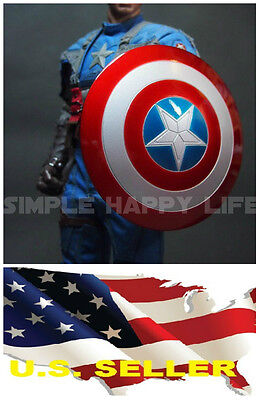 $34.99 • Buy 1/6 Captain America Shield 2.0 Metal Material Buckle Hand For Hot Toys USA