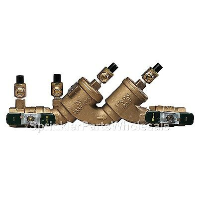 $184.99 • Buy Watts 1  719-QT Double Check Valve Backflow Preventor Assembly 0062762 719QT
