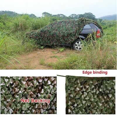 $35.99 • Buy Woodland Camouflage Netting Military Camo Hunting Cover Net Backing 10 X 16 Feet