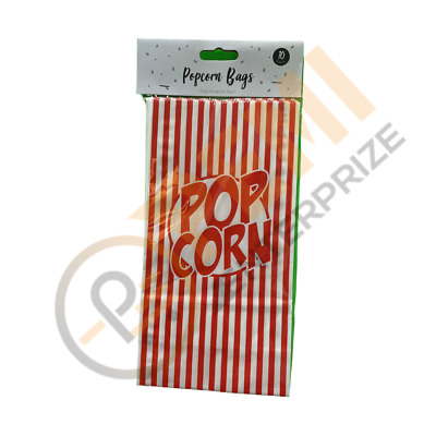 10 Popcorn Boxes Movie Film Hollywood Birthday Party Home Cinema Paper Bags Fun  • 2.50£