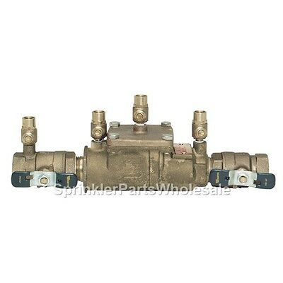 $181.80 • Buy Ames 1  2000B Double Check Valve Backflow Preventer DCA 0062492 Watts 007M1