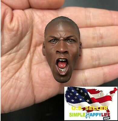 $39.89 • Buy NEW 1/6 Michael Jordan Head Sculpt 2.0 Fit Hot Toys Enterbay Body ❶❶US Seller❶❶