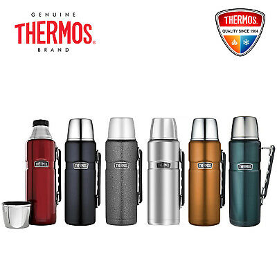 AU43.99 • Buy NEW Thermos Stainless King S/Steel Vacuum Insulated Flask 1.2L Free Post Save