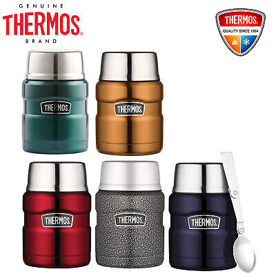 AU31.99 • Buy NEW Thermos Stainless King S/Steel Vacuum Insulated Food Jar 470ml With Spoon