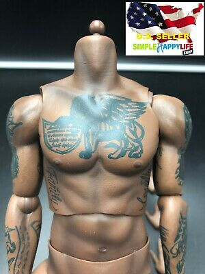 $84.99 • Buy 1/6 LeBron James Tattoo Male African Figure Body W/ Hands For Enterbay ❶USA❶