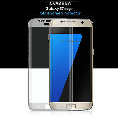 $ CDN13.98 • Buy Full Tempered Glass Screen Protector For Samsung Galaxy S6 S7 Edge+ Plus Curved