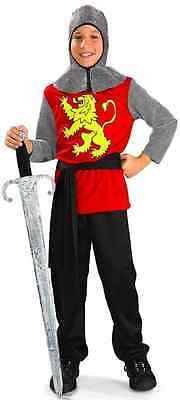 £17.31 • Buy Medieval Lord Knight Crusades Royal Guard Fancy Dress Up Halloween Child Costume