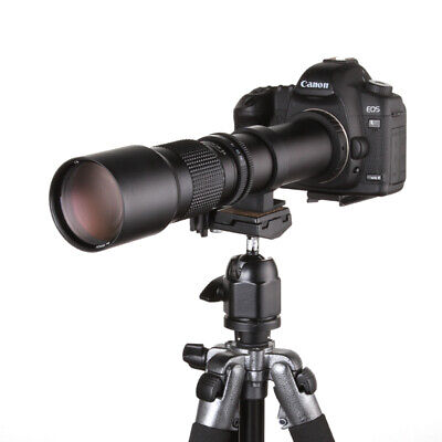 $ CDN147.76 • Buy 500mm F/8.0-32 Telephoto Lens For Sony A6000 A7 A7II A7S A7R HX300 RX10+T2 Mount