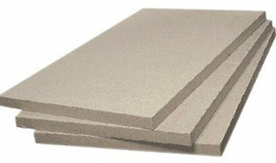 Fire Bricks Quality Vermiculite Insulating Board 600mm X 280mm X 25 Cut Your Own • 42.90£