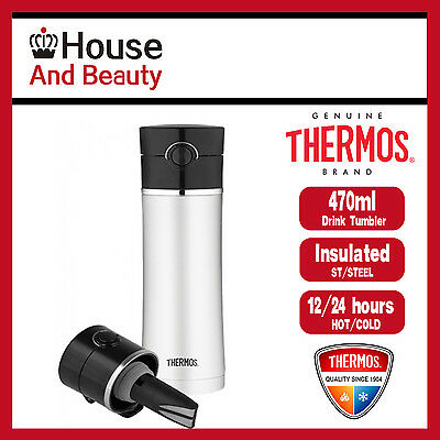 AU34.69 • Buy Brand New Thermos Vacuum Insulated Drink Bottle With Tea-Infuser 470ml