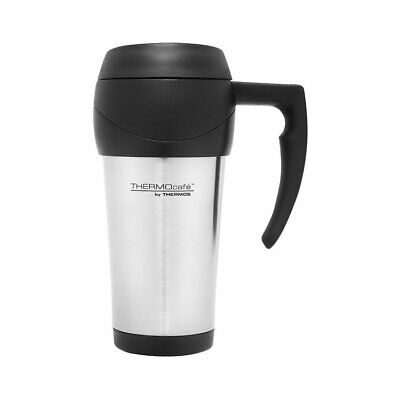 AU19.99 • Buy New THERMOS Thermocafe 450ml S/Steel Double Wall Outer Foam Insulated Travel Mug