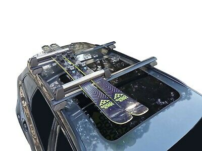 AU100 • Buy Alloy Ski Snowboard Carrier Holder Roof Rack Mounted And Fitting Kit