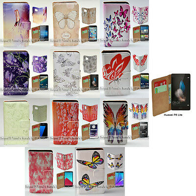 AU14.98 • Buy For Huawei Series Mobile Phone Butterflies Theme Print Flip Case Phone Cover #1
