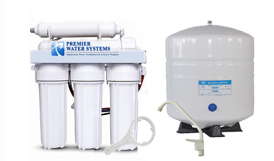 Residential Household Drinking Pure Water Ro Reverse Osmosis Filter System 50gpd • 91.50£