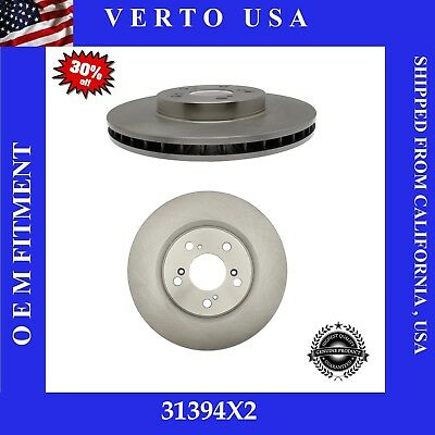 $58.99 • Buy Front Brake Rotors For Acura RL , 2005-2006-2007-2008-2009-2010-2011-2012