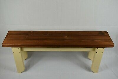Quality Handmade Kitchen-Dining Wooden Bench Sturdy And Solid (14inch Wide Seat) • 71£