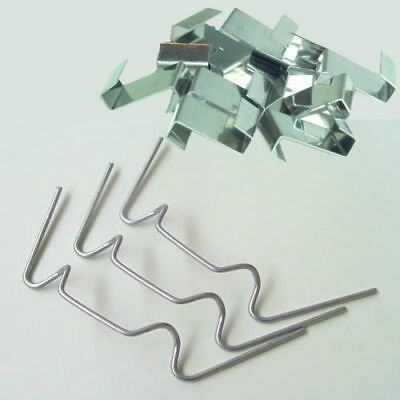 Greenhouse Glass Glazing Fixing Repair Replacement Clips 100 X W & 100 X Z Clip • 9.80£