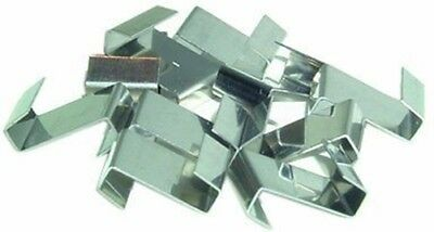 Stainless Steel Greenhouse Glass Z Overlap Glazing Repair Fixing Clips X 100  • 6£