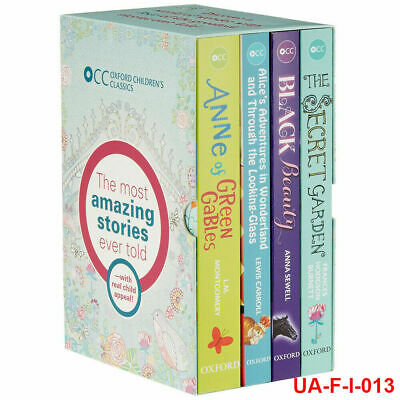 L.M. Montgomery Oxford Children's Classics World Of Wonder 4 Books Box Set New • 14.98£