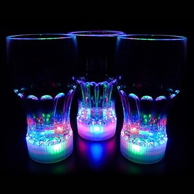 Light Up Led Cola Glass Flashing Party Cup • 5.95£