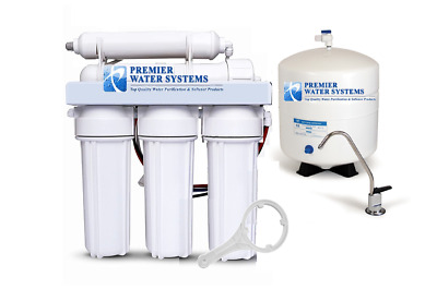 Residential Reverse Osmosis Pure Drinking Water Filtration System RO - For Homes • 89.37£