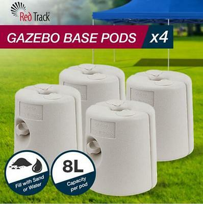 AU68.95 • Buy Set Of 4  Gazebo Base Weight Anchor Pods For Sand And Water Marquee 8L Each