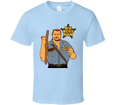 Big Boss Man Wrestling Legend T Shirt • 15.33£