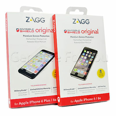 £2.99 • Buy ZAGG Invisible Shield Military Grade IPhone 6 4.7  Screen Protector 6S Plus 5.5