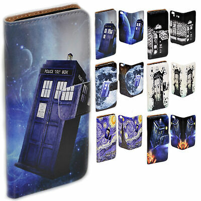 AU14.98 • Buy For OPPO Series - Police Box Theme Print Wallet Mobile Phone Case Cover