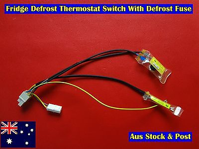 AU24 • Buy Refrigerator Spare Parts Defrost Thermostat Switch With Defrost Fuse (E104)