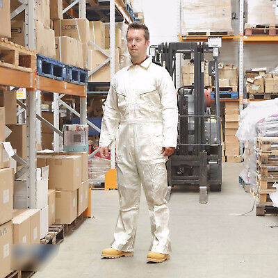 £9.95 • Buy Walls 100% Cotton Work Wear Overalls Coverall Painters Boiler Suit White RRP £32
