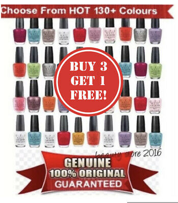 OPI Nail Polish/Lacquer/Varnish 15ml✅100% AUTHENTIC ✅ALL 170+ COLOURS✅UK SELLER✅ • 8.95£