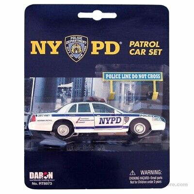 £10.08 • Buy NYPD Patrol Car Toy Set - New York City Police Department Die Cast Souvenir Gift