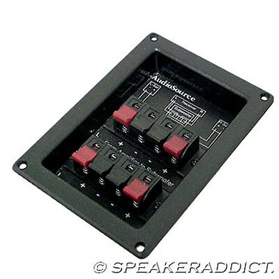 $ CDN18.19 • Buy Stereo Subwoofer Passive Crossover 120Hz 2 Way 12dB AudioSource