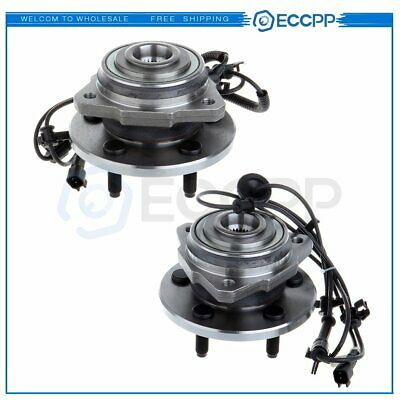 $77.77 • Buy Pair Set Of 2 Front Wheel Hubs & Bearings NEW For 2002-2007 Jeep Liberty W/ ABS