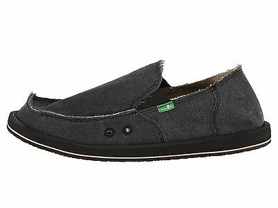Sanuk Vagabond Charcoal Men's Slip On Sidewalk Surfers SMF1001  • 36.43£